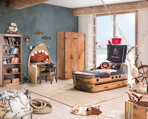 Great Inspiration For A Beach Style Boy Kidsu0027 Room Remodel In Miami