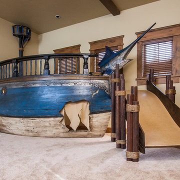 Pirate ship play fort