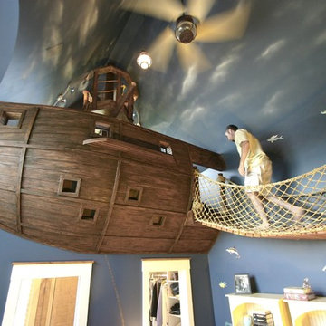 Pirate Ship Room & Other Fun Things