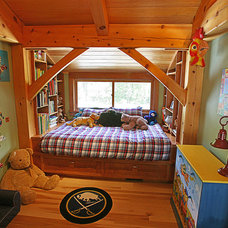 Modern Kids by New Energy Works Timberframers