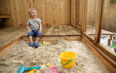 Auf die Schippe, fertig, los! 12 Ideen für Sandkästen im Garten