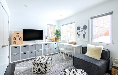 Storage, Style and Softness Make for a Happy Playroom