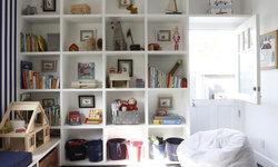 Playroom Bookshelves