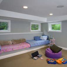 Traditional Kids by Great Rooms Designers & Builders