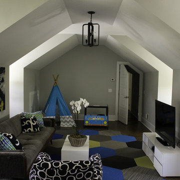 Playroom/Home Office fit for a king