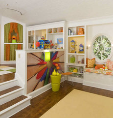 contemporary kids Playroom