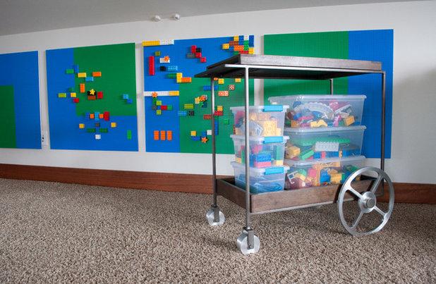 クラフツマン 子供部屋 by Jennifer Gardner Design