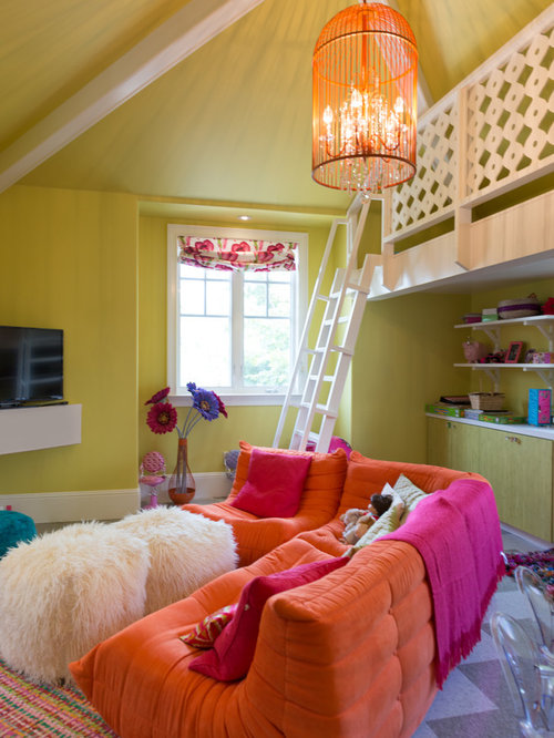 Kids Room Design Ideas, Renovations & Photos with Vinyl Flooring