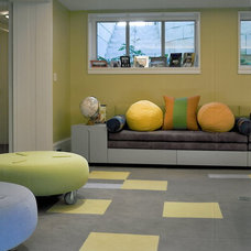 Contemporary Kids by SemelSnow Interior Design, Inc.