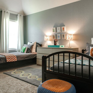 Ponder Transitional Twin Bedroom