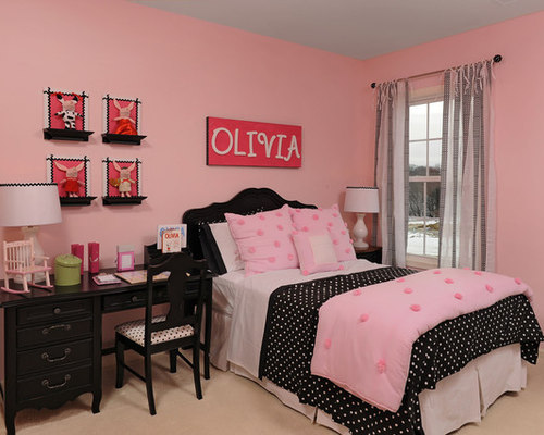 the pink bedroom model homes 13518