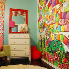 modern kids Poppie's Candy Land Room