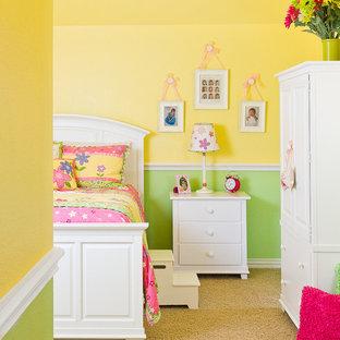 Idée de décoration pour une chambre de fille design.