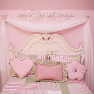 Pretty in Pink Little Girls Bedroom