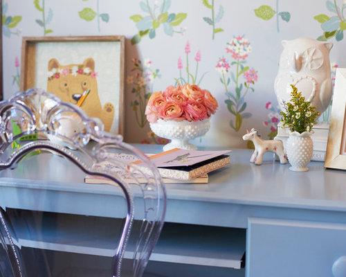 Shabby Chic Style Blue Kids Room Design Ideas