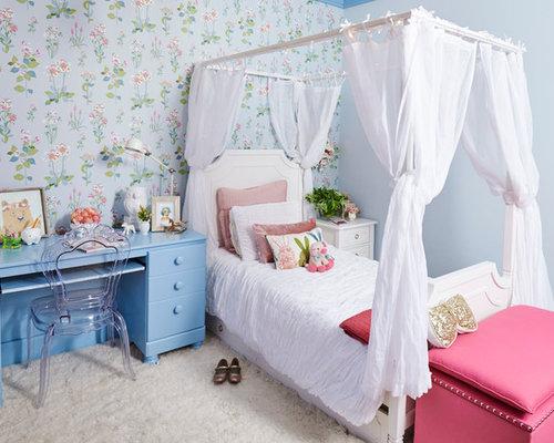 Kids 39 room design ideas remodels photos - Habitaciones shabby chic ...