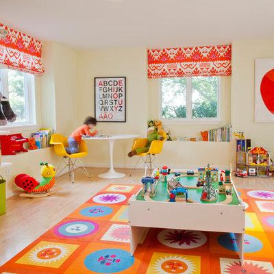 Playroom - contemporary playroom idea in Miami