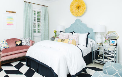 Room of the Day: Vibrant Style in a Teen Artist's Bedroom
