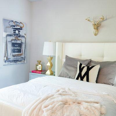 Kids' room - contemporary girl kids' room idea in Austin