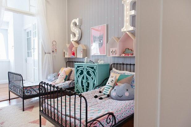 Du rose dans une chambre de fille pour ou contre for Petite chambre d enfant