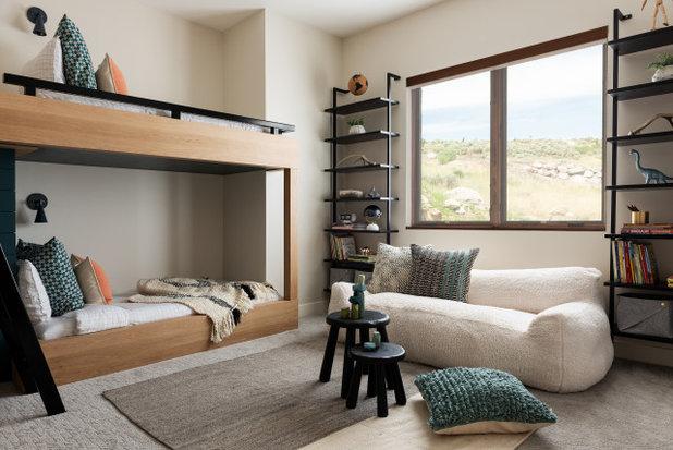 Rustikal Kinderzimmer by Hudson + Bloum Design