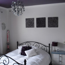 Modern Kids Purple ceiling room