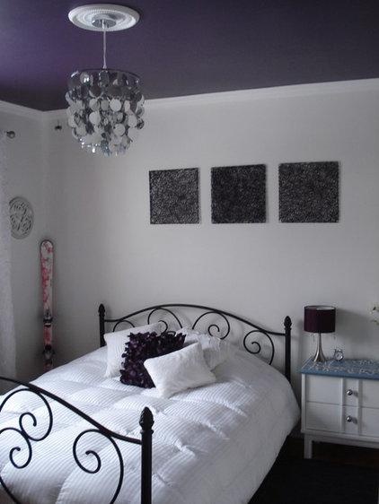 Modern Kids Purple ceiling room
