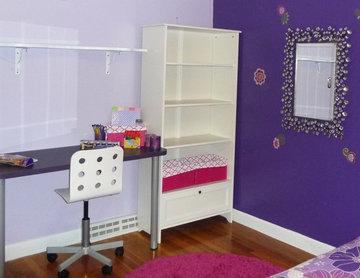 Purple Girls Bedroom 2