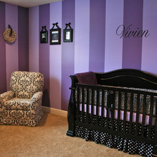 Modern Kids Purple Nursery