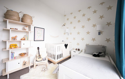 Room of the Day: Family Cuts Clutter for a Shared Bedroom