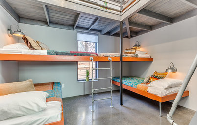 Room of the Day: A Modern Bunk Room for the Grandkids