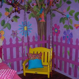 Ispirazione per una cameretta per bambini bohémian