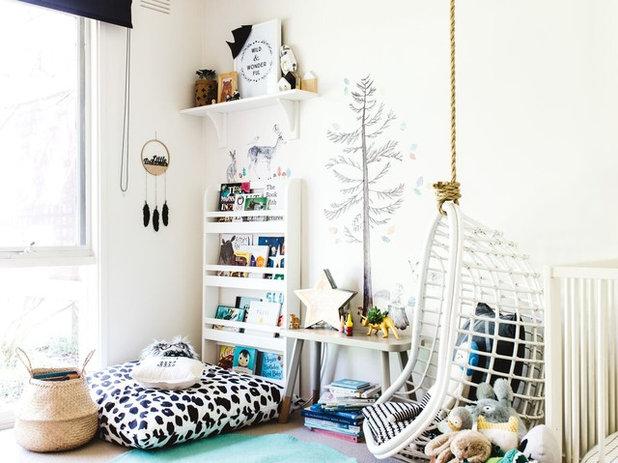6 idées pour exposer les livres dans les chambres d'enfant