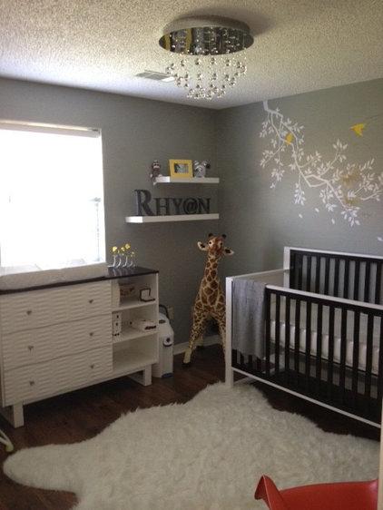 Contemporary Kids Rhyan's Nursery