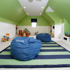 modern kids by Case Design & Remodeling Indy