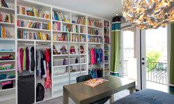 Robeson Design Girls Bedroom Closet Storage Ideas