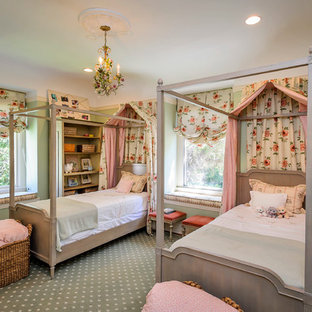 Example of a classic kids' bedroom design in San Francisco