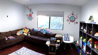 Robot Theme Kid's Playroom