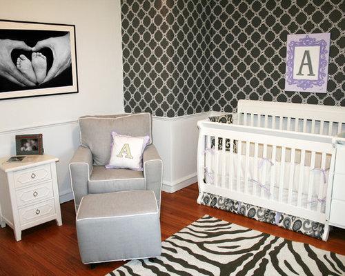 Best Gray Zebra Rug Design Ideas & Remodel Pictures   Houzz