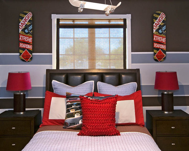 Contemporary Kids by Decorating Den Interiors