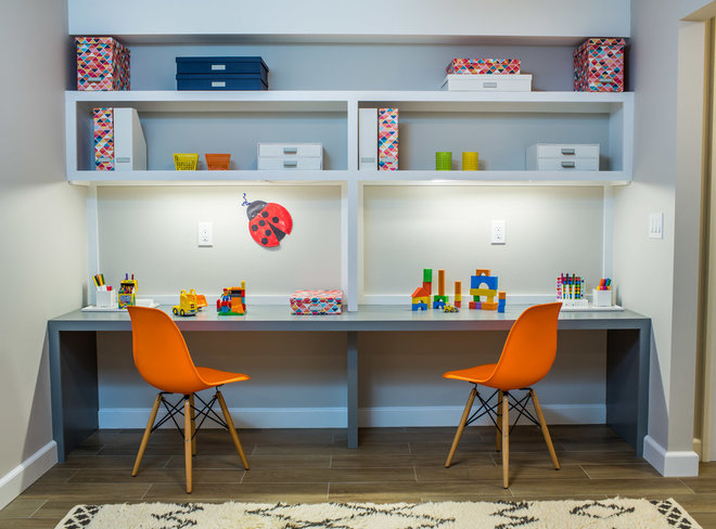Contemporary Kids by Hirshson Architecture + Design