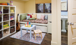 Row House Interiors Play Area/Guest Room