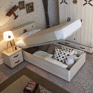 Mountain style kids' bedroom photo in Miami