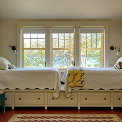 traditional bedroom by Smith & Vansant Architects PC