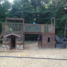 Rustic Kids by Out On a Limb Playhouses