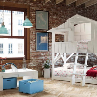 Inspiration for a contemporary kids' room in Dorset.