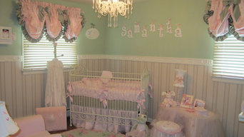 Samantha's pink and green nursery