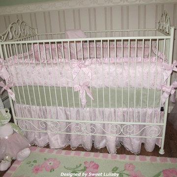 Samantha's Pink and Green Nursery