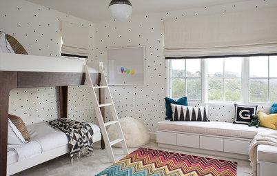 Indret børneværelset med kunst og design fra gulv til loft