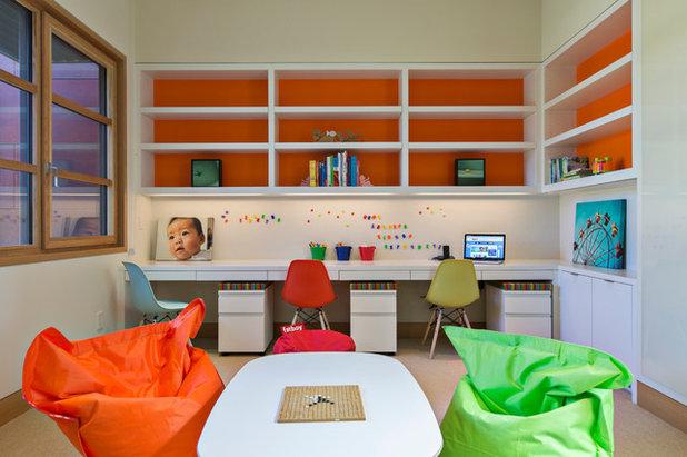 Contemporáneo Dormitorio infantil by Louie Leu Architect, Inc.